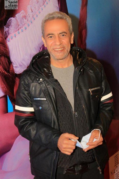 الفنان صبرى فواز بعرض رابونزل ل بالعربى-تصوير اسلام سعيد