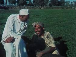 علي الشريف في دور دياب في فيلم الارض