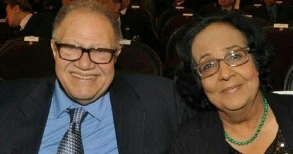 يحيي الفخراني وزوجته دكتورة لميس